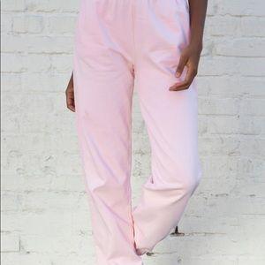 Pink Rosa brandy Melville joggers